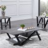 3 pc grigio coffee table set