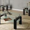3Pc Modern Coffee Table Set