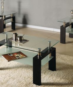 3Pc Modern Coffee Table Set