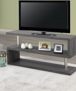Dos TV Stand Matt Grey Colour