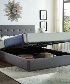 Lift Storage Platform Bed Open