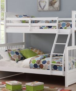 S/D Bunk Bed in white