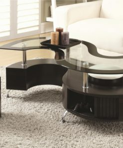 Coffee Table with 2 Stools and Storage