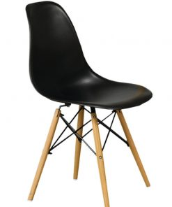 Eiffel Modern Chairs Black Colour
