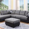 Large Sectional Sofa Grey Colour