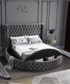 Dubai Upholstered Storage Platform Bed